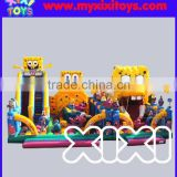 Interesting fun inflatable amusement fun city for kids