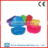 Colorful Plastic Denture Box/ Plastic Retainer Case