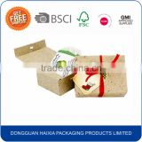 Hot selling wholesale recycle paper soap packaging box