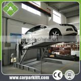 less cost hydraulic garage Car parking Elevator