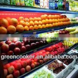 display fruits and vegetables used/fruit vegetable display rack/wrought iron bracket for shelf