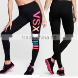 Custom made Women's Compression Tights Yoga Pants Absolute letter printed Workout leggings
