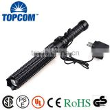 Telescopic Bat T6 LED Zoom Tactical Security Rechargeable Police Torch                                                                         Quality Choice