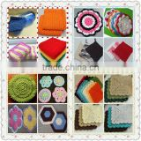 all kinds of handmade crochet dishcloth for sale