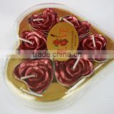 HOT SALE Newest Fashion rose shape candle