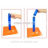 Decorative tall balloon display stand