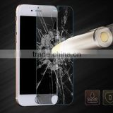 2014 new item tempered glass screen protector iphone 6 glass screen with color package