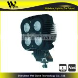 "Factory direct offer Oledone square 4"" 40W volvo excavator construction agricultural mining truck led work light"