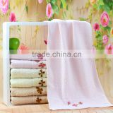Sandy High Quality Embroidered Personal Custom Logo Promotion Towel For Towel Folder Machine