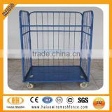 China portable roll metal wire mesh storage cage trolley                                                                         Quality Choice