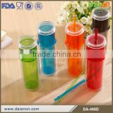 New product double wall clear acrylic tumbler