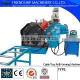 Automatic Cable Tray Roll Forming Machine Press Punching Machine