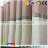 Mediterranean style Linen Polyester blend multi color fabric for Curtain, cushion cover, bedding