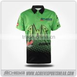 wholesale custom sublimated polo t shirt, blank dry fit polo shirt for men 2016                                                                         Quality Choice