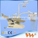 made in china luxury dental chair dental unit with self-contained clean water system