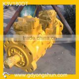 K3V180DT kawasaki hydraulic pump for excavator,Excavator hydraulic pump, k3v180dt hydraulic pump parts