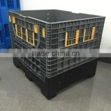 Reduces packaging costs bulk large foldable plastic container for sale