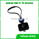 Vmade DVB-T2 android TV tuner DVB T2 Pad TV receiver mini USB dvb-t android phone
