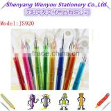 12 colour gel pen set diamond Glitter Gel ink Pen for school student