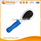 Chi-buy Dual Dog Grooming Tool, Pin and Bristle, Two-sided Grooming Tool