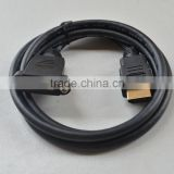 Short HDMI to Panel Mount HDMI Female Extension Cable Adapter