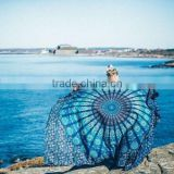 Blue Indian wholesale mandala tapestry 100% cotton wall hanging bedspread India Printed Mandala throw Tapestries