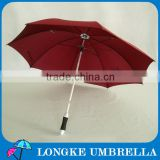 [G054]Aluminum shaft fiberglass ribs custom golf umbrella