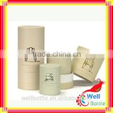 Plain cardboard gift boxes with large round cardboard gift boxes for cosmetic paper tube