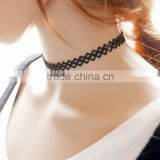 Hot Tattoo Choker Stretch Necklace Black Retro Elastic Gothic choker