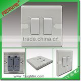 2 gang 2 way electrical wall switch bakelite plate wall switch