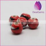 DIY handmade ceramic bead wholesale loose porcelain beads