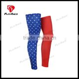 2016 Can Be Customized 2016 USA Flag Bicycle Sport Leg Warmer Cycling Bike Leg Cover