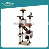 New design luxury handmade cat tree condo Cat Tree House for cats