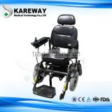 KAREWAY Material and Hospital Furniture Type adjustable standing Motor Wheelchairs KJW-826L