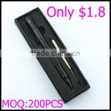 Package in box stainless steel attack head popular tactical ball pen self defense only with $1.8