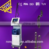 co2 with vaginal probe co2 laser micromanipulator fractional co2 laser burn scars smooth