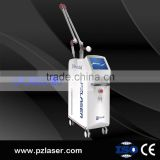 PZ Laser Medical Clinical Use Q Switch Nd 1000W Yag Laser / Tatoo Removal Laser Machine Telangiectasis Treatment