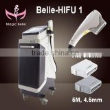 7MHZ Hottest !! Korea HIFU Machine/high Intensity Focused Ultrasound Belle-HIFU Machine For Face Lifting Expression Lines Removal