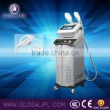 Hot Selling Three Handles E Light Skin Care (ipl &rf) Multifunctional Machine Redness Removal