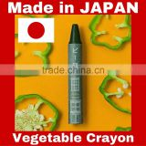 Japanese vegetable crayon pens made with safe ingredients