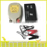 0.3 joule 5 miles portable battery power electric fence energiser for poultry and livestock