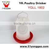 10L chicken water drinker, chicken drinker poultry equipment