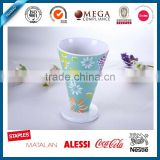 ice cream reusable melamine cup , drink saka cup with cheap price, hot new products for 2016