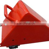 Manual steel wheel chock