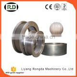 china factory supply CE/GOST/SGS certificated stainless steel grain based diameter pellet mill ring die for sale