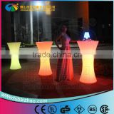 Rotomolding Plastic LED Chair Table light up led plastic bar table