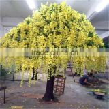 SJ15001027 Artificial wisteria flower plant silk flower tree with factory price