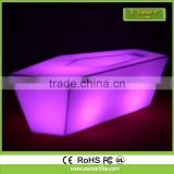 china supplier hot sale Illuminated LED lighted bar counter furniture led furniture