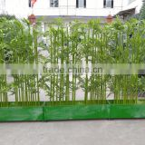 Artificial bamboos for sale,green bamboo poles for decoration