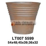 Vietnam Producer Elegant Trading Cone Small Brown Bloom Natural Pottery